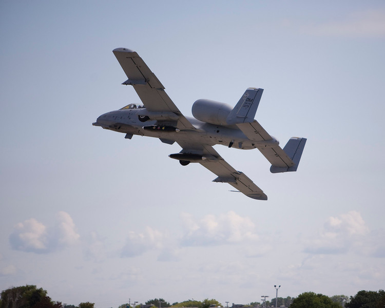A-10 Warthog at EAA AirVenture 2009.