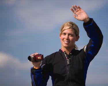 Melissa Andrzejewski at Oshkosh 2009.