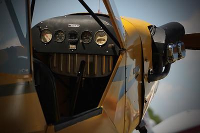 Cub Cockpit