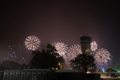 Toilets, Rain, and Fireworks