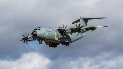 Airbus A400M Atlas - GAF - Luftwaffe - LTG 62 - 54+15 - RAF Lakenheath (March 2019)