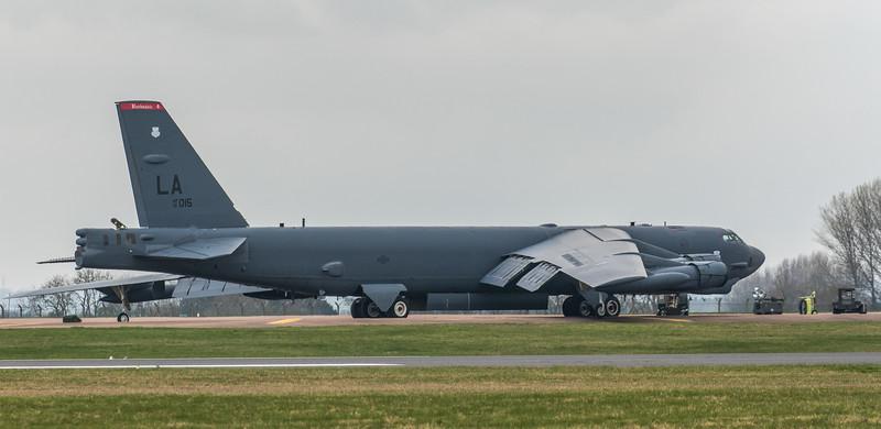 Boeing B-52H Stratofortress - USAF - 2BW - 96th BS - LA AF 61-1015 - RAF Fairford (March 2019)