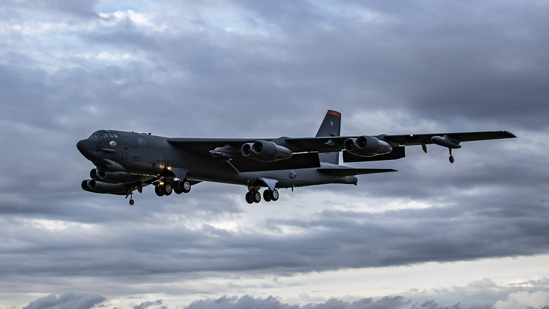 Boeing B-52H Stratofortress - USAF - 5BW - 23rd BS - MT AF 60-0029 - RAF Fairford (September 2020)