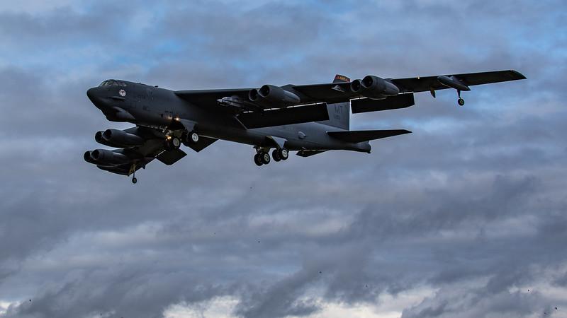 Boeing B-52H Stratofortress - USAF - 5BW - 23rd BS - MT AF 60-0056 - RAF Fairford (September 2020)