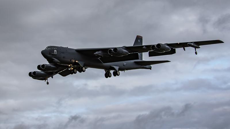 Boeing B-52H Stratofortress - USAF - 5BW -  MT 5BW AF 60-0005 - RAF Fairford (September 2020)