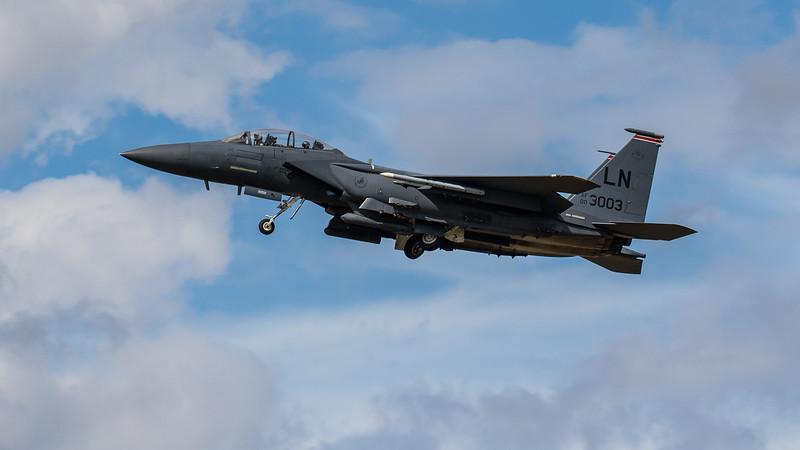 F15-E Strike Eagle - 48FW - 494FS - LN AF 00-3003 - RAF Lakenheath (August 2020)