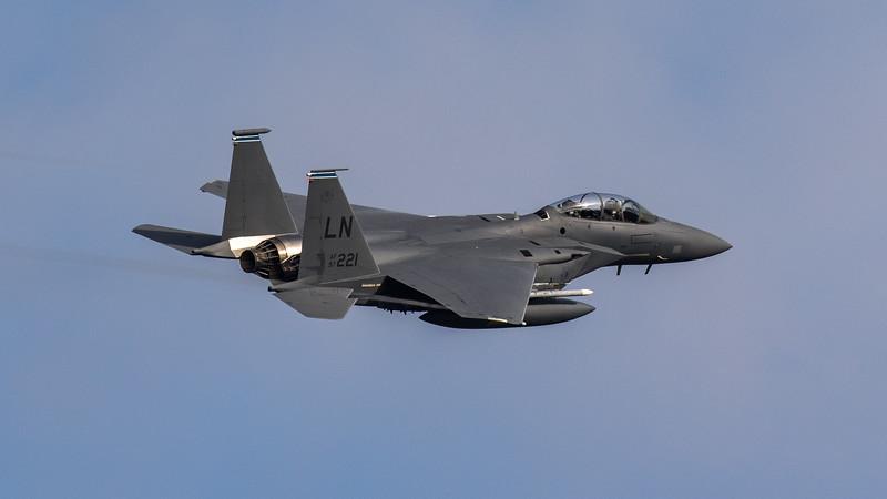 F15-E Strike Eagle - 48FW - 492FS - LN AF 97-0221 - RAF Lakenheath (September 2020)