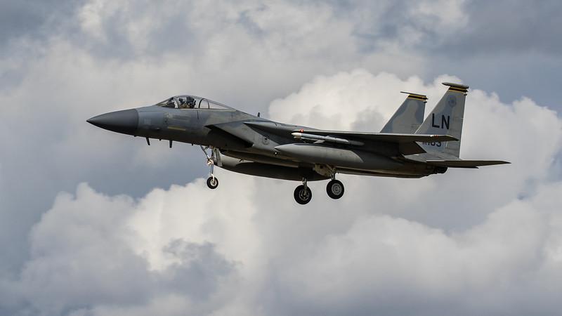 F15-C Eagle - 48FW - 493FS - LN AF 86-0163 - RAF Lakenheath (August 2020)