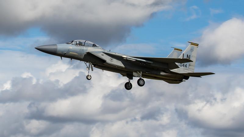 F15-D Eagle - 48FW - 493FS - LN AF 84-0044 - RAF Lakenheath (August 2020)