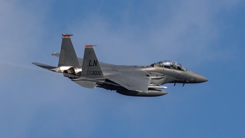 F15-E Strike Eagle - 48FW - 494FS - LN AF 00-3000 - RAF Lakenheath (September 2020)
