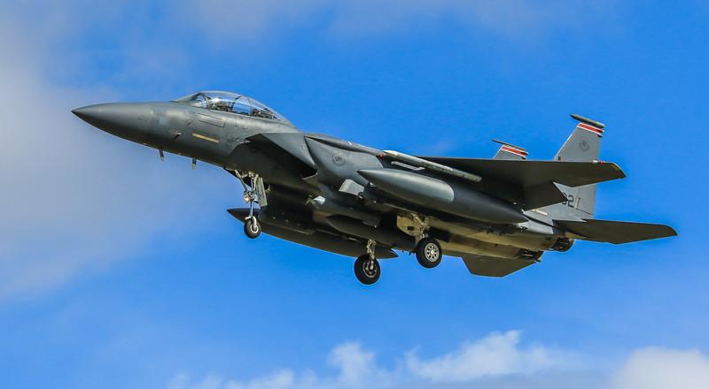 F15-E Strike Eagle - 48FW - 494FS - LN AF 00-3002 - RAF Lakenheath (April 2016)