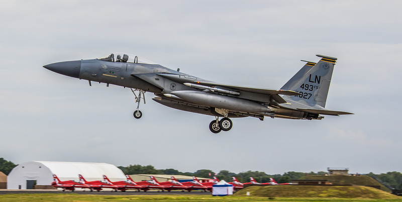 F15-C Eagle - 48FW - 493FS - LN 493FS AF 84-0027 - RAF Fairford (July 2017)
