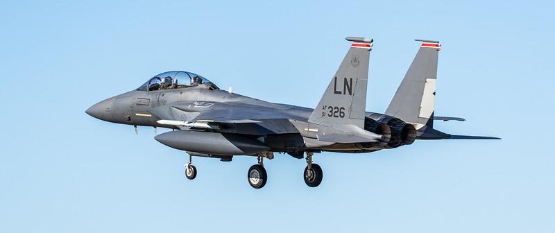 F15-E Strike Eagle - 48FW - 494FS - LN AF 91-0326 - RAF Lakenheath (March 2019)