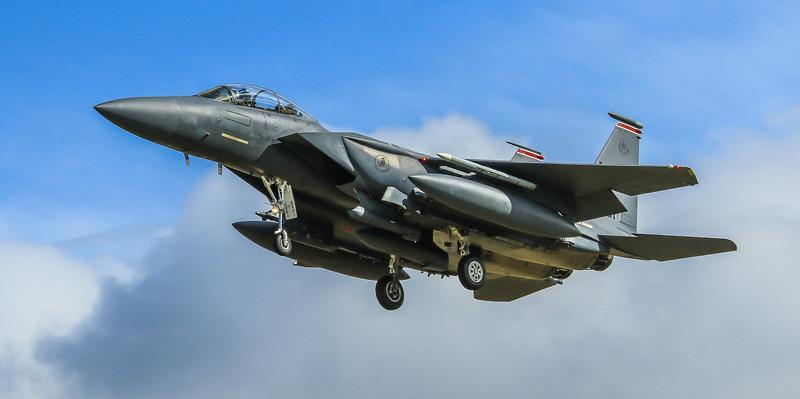 F15-E Strike Eagle - 48FW - 494FS - LN AF 96-0201 - RAF Lakenheath (April 2016)