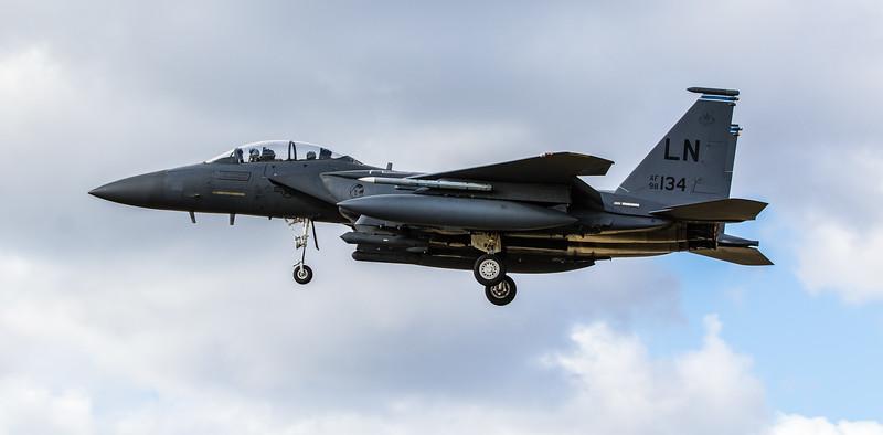F15-E Strike Eagle - 48FW - 492FS - LN AF 98-0134 - RAF Lakenheath (March 2019)
