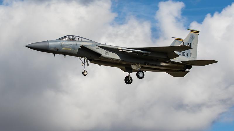 F15-C Eagle - 48FW - 493FS - LN AF 86-0164 - RAF Lakenheath (August 2020)