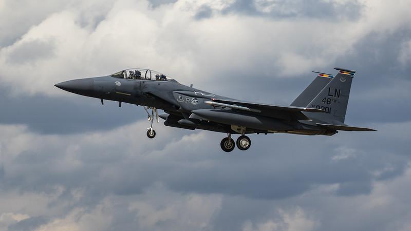 F15-E Strike Eagle - 48FW - LN 48FW AF 96-0201 - RAF Lakenheath (August 2020)