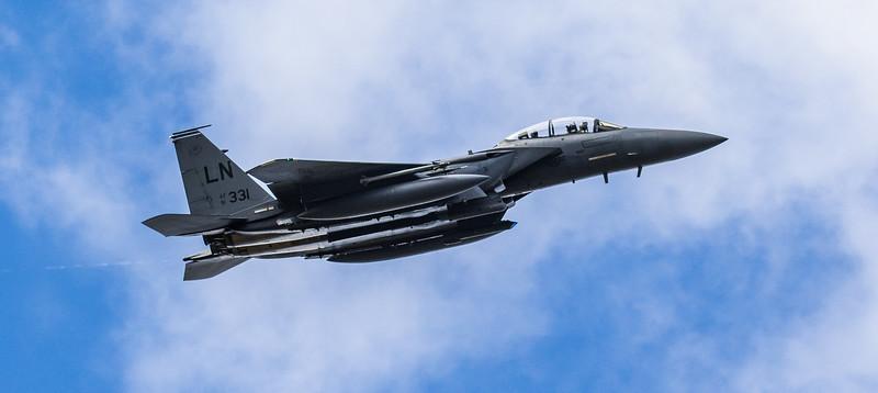 F15-E Strike Eagle - 48FW - 492FS - LN AF 91-0331 - RAF Lakenheath (March 2019)