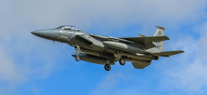 F15-C Eagle - 48FW - 493FS - LN AF 84-0044 - RAF Lakenheath (April 2016)