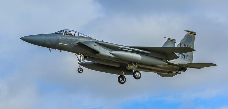 F15-C Eagle - 48FW - 493FS - LN AF 86-0171 - RAF Lakenheath (April 2016)
