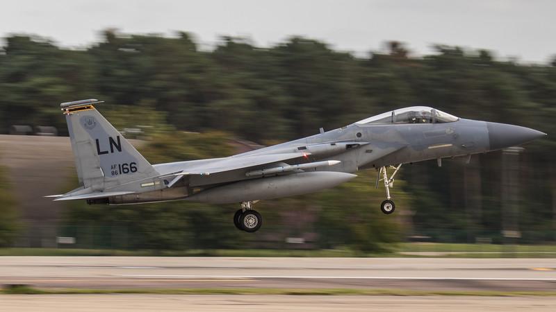 F15-C Eagle - 48FW - 493FS - LN AF 86-0166 - RAF Lakenheath (September 2020)