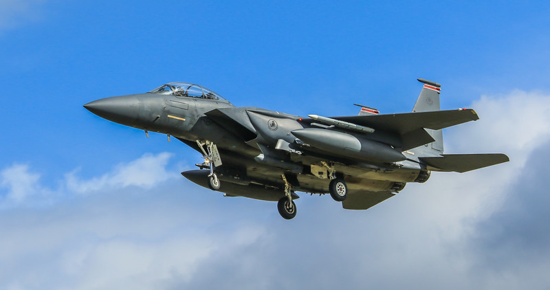 F15-E Strike Eagle - 48FW - 494FS - LN AF 91-0310 - RAF Lakenheath (April 2016)