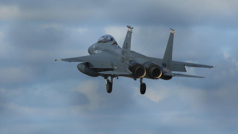 F15-E Eagle - 48FW - LN 48FW AF 91-0311 - RAF Lakenheath (April 2016)