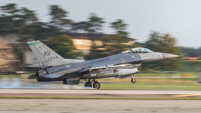 F16-C Falcon - 31FW - 555FS - AV AF 89-2044 - RAF Lakenheath (September 2020)