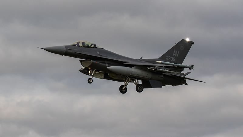 F16-C Falcon - 31FW - AV AF 90-0709 - RAF Lakenheath (September 2020)