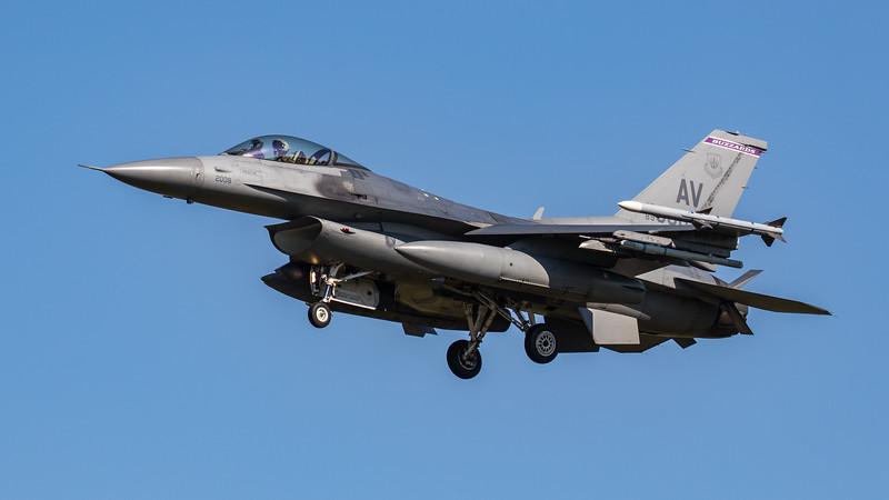 F16-C Falcon - 31FW - 510FS - AV AF 89-2008 - RAF Lakenheath (September 2020)