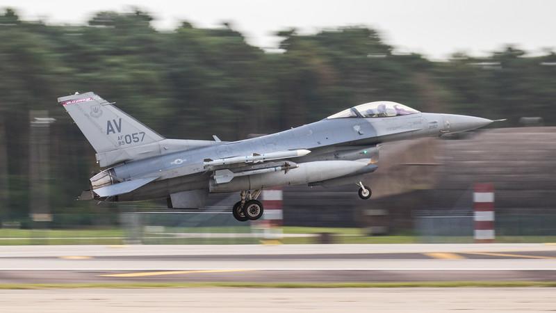 F16-C Falcon - 31FW - 510FS - AV AF 89-2057 - RAF Lakenheath (September 2020)