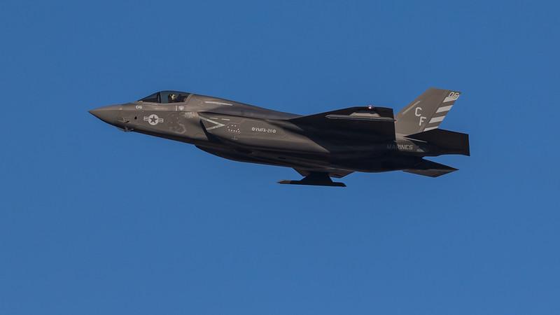 F35B Lightning II - USMC - VMA-211 - CF06 - 169607 - RAF Marham (November 2020)