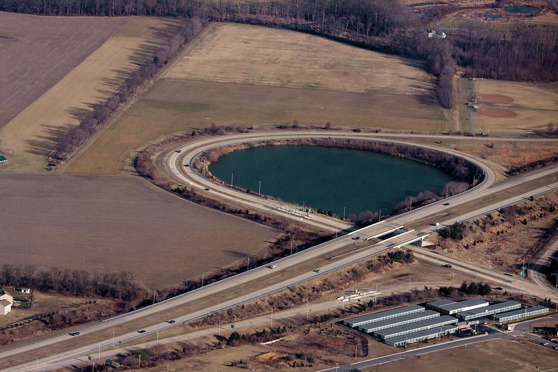 Delaware Route 1 interchange