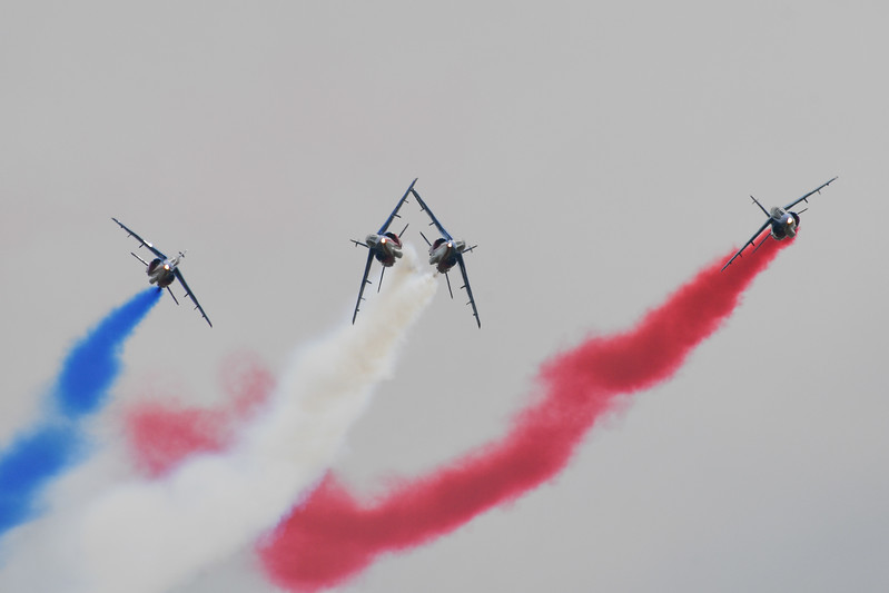 Patrouille Acrobatique de France in Sacramento, CA