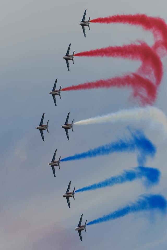 Patrouille Acrobatique de France in Sacramento, CA