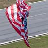 Misty Blues Flag Landing