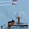 Redline RV8s Buzzing Coast Guard