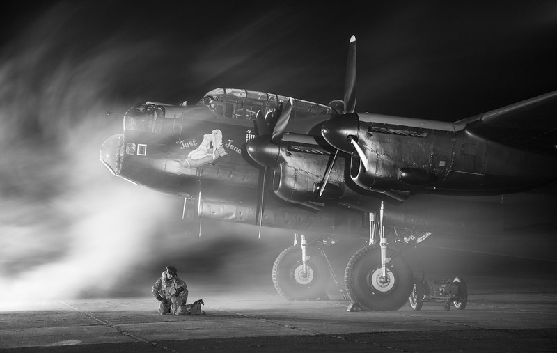 Avro Lancaster - Just Jane - Timeline Event - East Kirkby (November 2017)