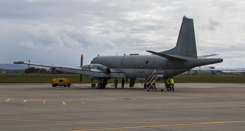 Breguet Atlantic - French Navy - RAF Lossiemouth (May 2018)