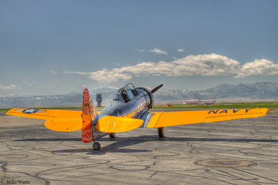 HDR T-6 on the Ramp