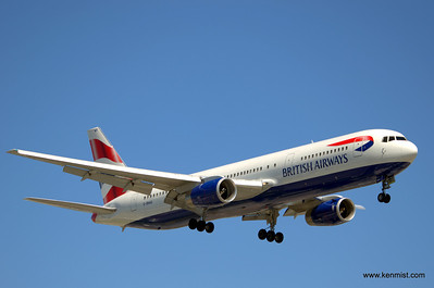 G-BNWS - Boeing B-767-300/ER - British Airways