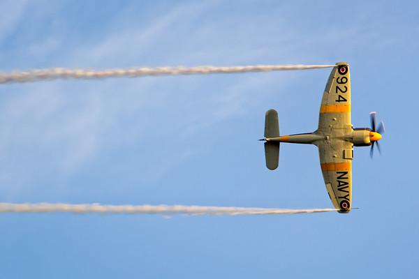 Sea Fury Aerobatics