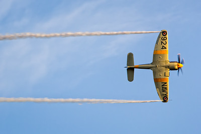 Sea Fury Aerobatics