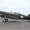 P-40F Warhawk VH-HWK. The only flying P-40F in the world