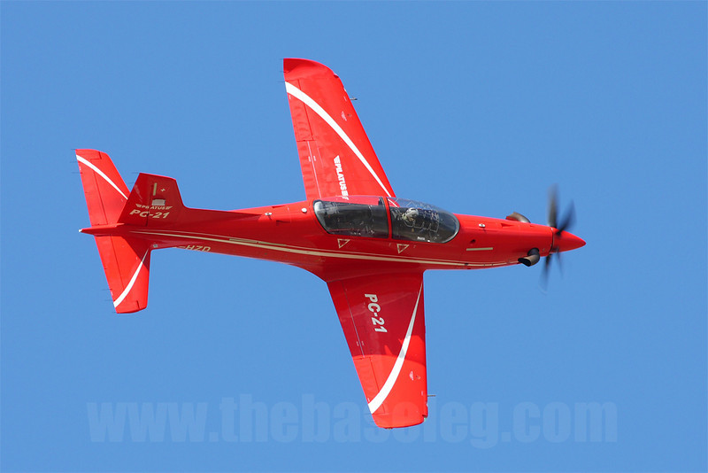 Pilatus PC-21 demonstrator HB-HZD