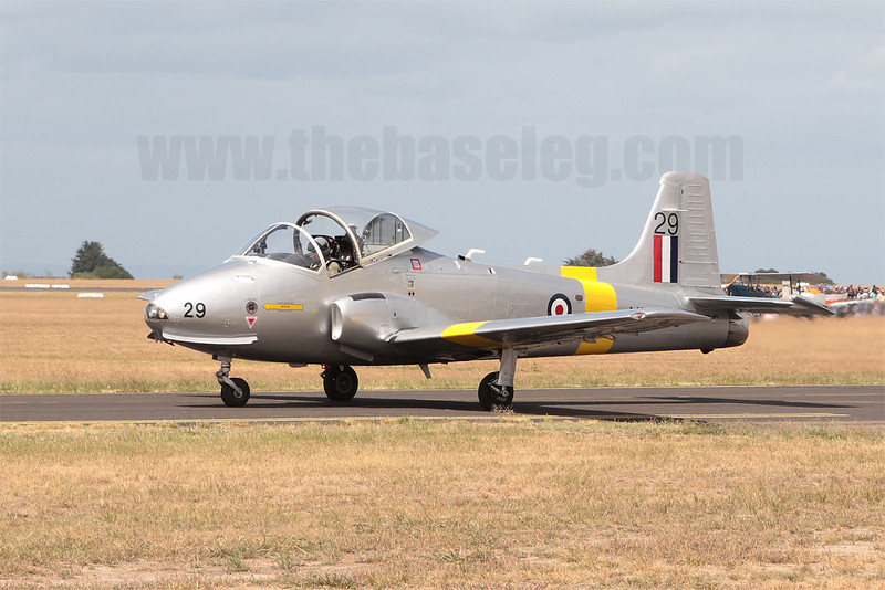 BAC Jet Provost VH-JPV