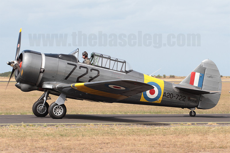 CAC Wirraway VH-CAC