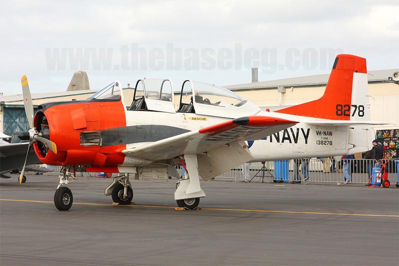 T-28B Trojan VH-NAW