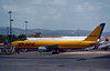 DHL Boeing 757-200 D-ALEH, Lisbon Humberto Delgado airport, Wed 25 May 2016 - 1209.  Operated by European Air Transport Leipzig.