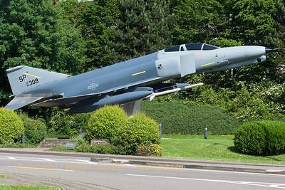 USAF F-4E Phantom II (66-0308/SP) preserved at Spangdahlem.